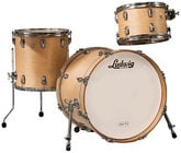 """Ludwig Drums L8303AX0N Classic Maple Downbeat 3 Piece Shell Pack in Natural Finish: 12"""", 14"""" Toms, 14""""x20"""" Bass Drum"""
