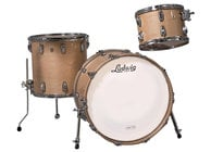 "Ludwig L8323AX0NWC Classic Maple Fab 22 3 Piece Shell Pack in Natural Finish: 13"", 16"" Toms, 14""x22"" Bass Drum"