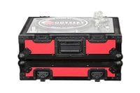 Odyssey FR1200BKRED  Designer DJ Series Case for Technics Turntables