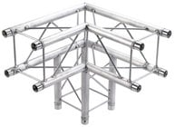 Global Truss SQ-F24-C30 1.64 ft 3-Way Corner Junction SQ-F24-C30