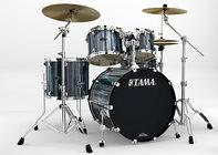 "Starclassic Performer B/B 4-Pc Kit: 18x22"" Bass Drum, 8/9/14"" Toms, 5.5x14"" Snare Drum, Double Tom Mount"