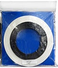 "ATR Magnetics ATR40LT 1/4"" x 500 Roll of White Leader Tape in Plastic Bag"