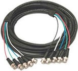Kramer C-5BM/5BM-100 Molded 5 BNC-BNC Cable, 100 ft. C-5BM/5BM-100