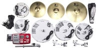 "10/12/16/14"" Tru-Trac Conversion Kit with Brass Cymbals"