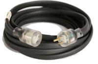 50' Flat Extension Cord with Edison Connectors