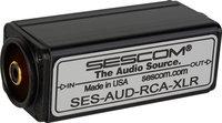 Sescom SES-AUD-RCA-XLR RCA Unbalanced to XLR Balanced Audio Converter