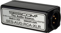 RCA Unbalanced to XLR Balanced Audio Converter