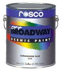 1 Gallon of Turquiose Blue Off Broadway Paint