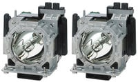 Twin Pack of Replacement Projector Lamps