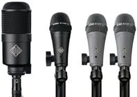 Telefunken DD4-TELEFUNKEN 4 Piece Dynamic Drum Microphone Set