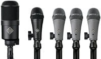 Telefunken DD5-TELEFUNKEN 5 Piece Dynamic Drum Microphone Set