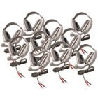 Califone International DS8V-10L 10-Pack of DS8V Discovery Headsets without Case