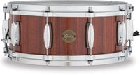 """Gretsch Drums S1-5514-RW 5.5""""x14"""" Gold Series 10 Lug Rosewood Snare Drum"""