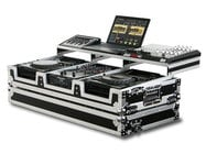 "Odyssey FZGSP10CDJW Remixer Glide Style Series CD/Digital Media DJ Coffin Case for 2 Large-Format Table Top CD/Digital Media Players & 10"" Wide Mixer FZGSP10CDJW"