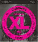 D`Addario ECB81 Light Chromes Series Long Scale Electric Bass Strings