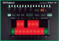 AIRA Touch Bassline Bass Synthesizer