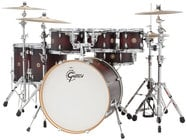 "Gretsch Drums CM1-E826P Catalina Maple 7 Piece Shell Pack with 8"", 10"", 12"", 14"", 16"" Toms, 18""x22"" Bass Drum, 6""x14"" Snare"