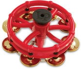 Latin Percussion LP193B Click Hi-Hat Tambourine with Brass Jingles