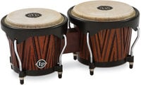 Latin Percussion LP601NY-CMW City Series Carved Mango Wood Bongos