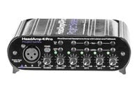 ART HeadAMP 4 Pro 5 Channel Headphone Amplifier with Talkback