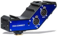 BeachTek DXA-CONNECT  Active XLR Adapter / Bracket Combo
