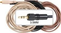 Galaxy Audio CBLSEN Replacement Cable with 3.5mm Connector for Sennheiser Devices