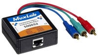 MuxLab MUX-500052 VideoEase Component Video / Analog Audio Male Balun