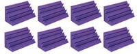 Auralex LENPUR LENRD Bass Trap 8-pack in Purple