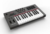 25-Key USB MIDI Controller with DAW Auto-mapping