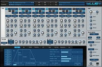 Rob Papen BLUE-II-UPGRADE Blue II Synthesizer Virtual Instrument Upgrade from v1