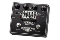 Mesa Boogie THROTTLE-B0X-EQ Throttle Box Dual-Mode High-Gain Distortion Pedal with Assignable 5-Band EQ