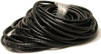 "TecNec SPB75-100 100 ft of 3/4"" Black Spiral Wrap"