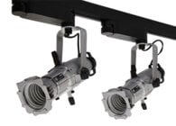 ETC/Elec Theatre Controls 4M50L-T Track Mount Source Four Mini LED with 50-Degree Field Angle in Black