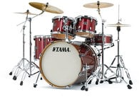 5-Piece Silverstar Shell Pack with Hardware in Vintage Burgundy Sparkle