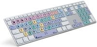 LogicKeyboard LKBU-FCPX10-AM89-US Apple Final Cut Pro X Advanced Keyboard with 2x USB 2.0 Ports and American English Surface-Printed Key Icons