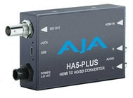 AJA HA5-Plus HDMI to SD/HD/3G-SDI Mini Converter with DSLR Format Support and Power Supply