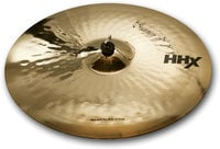 "21"" HHX Raw Bell Dry Ride Cymbal in Brilliant Finish"