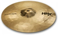 "21"" HHX Evolution Ride Cymbal in Brilliant Finish"