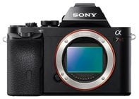 Sony ILCE7R/B a7R Full Frame Mirrorless DSLR Camera Body