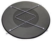 "Lowell SM805A 8"" 70V In-Ceiling Sound Masking Speaker Assembly"