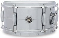 """Gretsch GB4162S 6"""" x 12"""" Brooklyn Series Chrome Over Steel Snare Drum"""