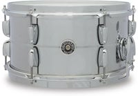 """Gretsch GB4163S 7"""" x 13"""" Brooklyn Series Chrome Over Steel Snare Drum"""