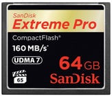 64 GB Extreme PRO CompactFlash Card