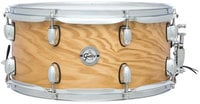"""Gretsch Drums S1-6514-ASHSN 6.5""""x14"""" Silver Series 7 Ply 8 Lug Ash Snare Drum"""