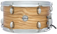"""Gretsch Drums S1-0713-ASHSN 7""""x13"""" Silver Series 7 Ply 6 Lug Ash Snare Drum"""