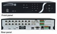 4 Channel Desktop CX Digital Video Recorder with 960H and Custom Scheduling