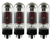 JJ Electronics 6L6GCQJJ Quartet of 6L6 Power Vacuum Tubes