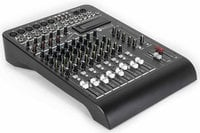 12-Channel Mixer with Expansion Slot and 4 Built-In Compressors