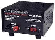 Pyramid PS-4KX Regulated Power Supply - 3A Constant, 4A Surge