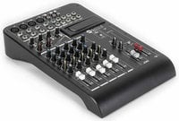8-Channel Mixer with Expansion Slot and 2 Built-In Compressors